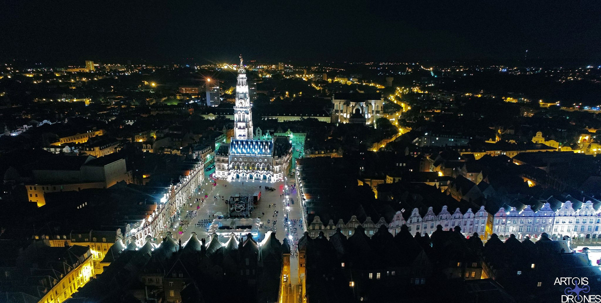Embrasement Beffoir Arras Septembre 2017 Artois Drones